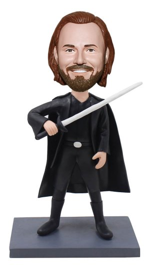 Custom Bobblehead Jedi Doll