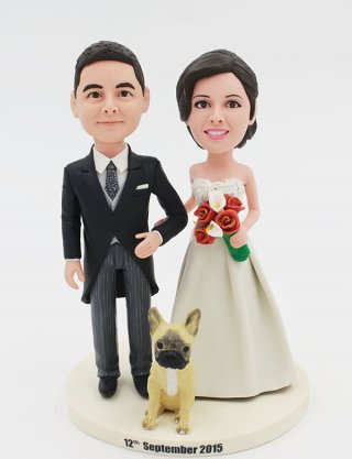 Custom Wedding Bobbleheads Of Yourself