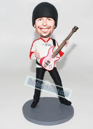 custom bobbleheads cheap Guitar from photo
