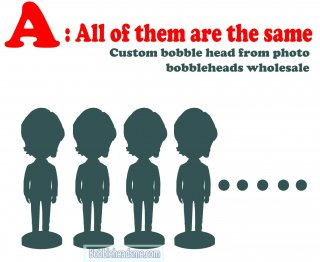 Cheap Bobbleheads Wholesale All Of Them Are The Same