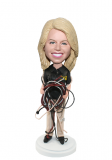 Customized Female Engineer Bobblehead