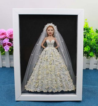 Customize your frame - dimensional painting doll 12-inch A Doll