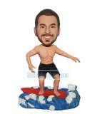 Custom Surfing Bobbleheads Doll