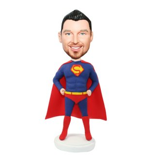 Superman Akimbo Customized Bobbleheads
