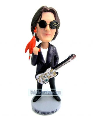Custom Guitar Playing Bobblehead