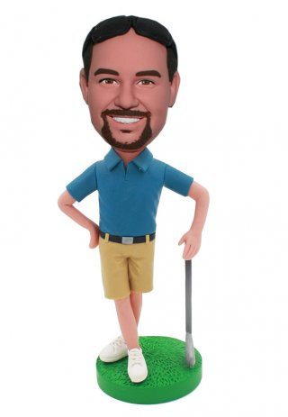 Customized Bobble Head Golf Dolls