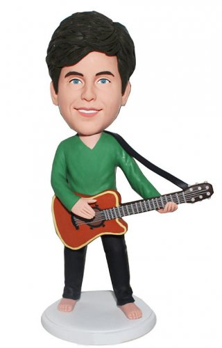 Personalized Musician Bobblehead Doll