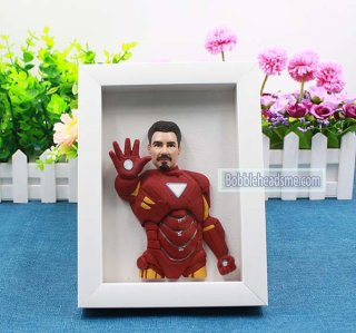 custom Iron Man Doll Use Your Photo 8-inch