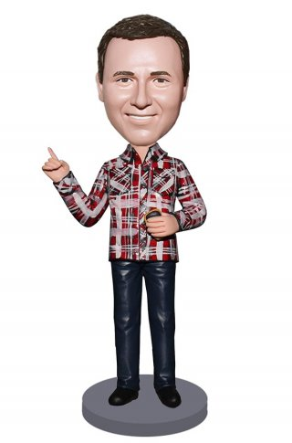 Custom Flannel Shirt Bobblehead