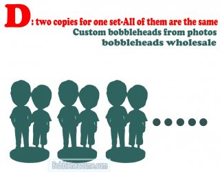 Two Copies For One Set & All Of Them Are The Same Bobble Heads Wholesale
