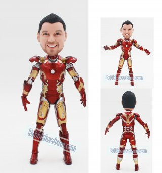 Custom Iron Man Bobblehead Action Dolls