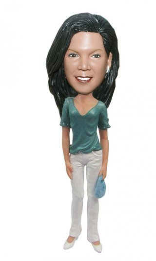 Custom Bobble Head Looks Like Me Christmas Gifts