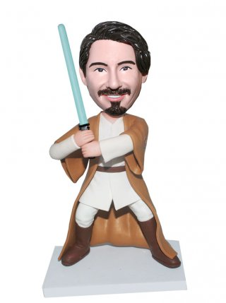Custom Star Wars Jedi Knight Bobble Heads That Look Like You