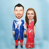 Custom Indian Wedding Sari Bobblehead From Photo