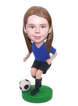 Custom Football Bobble heads Personalised Gifts For Kids