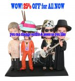 25% Off For Four Custom bobbleheads A Bang bobbleheads