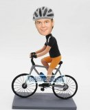 Custom Sports Bobbleheads -Cyclist mountain biker Bobbleheads