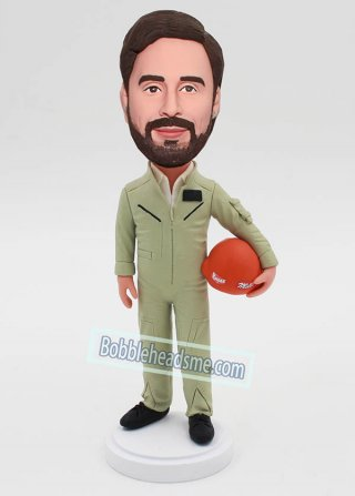 Custom Flight Suit Bobbleheads