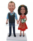 Custom Anniversary Bobble Heads From Photo