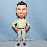 Fennel Shirt Male With Hands On Hips Bobbleheads