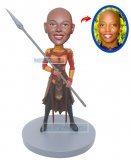 Custom Black Panther's Dora Milaje Bobbleheads Of Yourself
