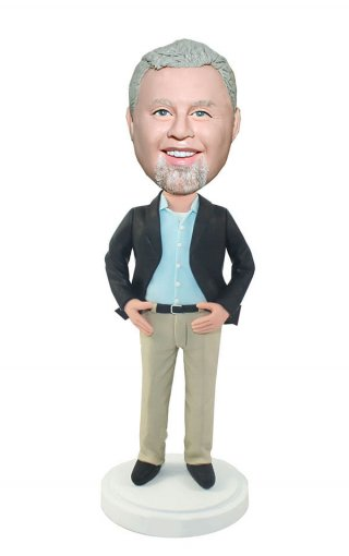 Bobble Head Manufacturers For Executive No Tie Bobblehead