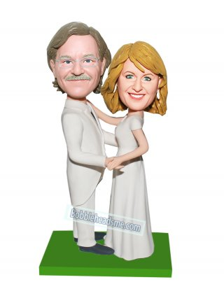 Custom Wedding Bobblehead