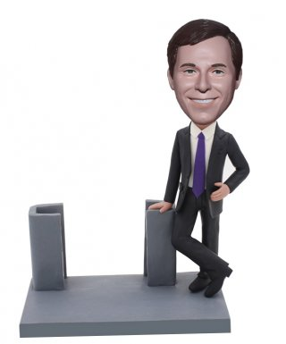 Business Card Holder Bobblehead Business Gift Contacts