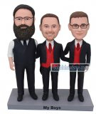 Custom 3 People Bobble Heads