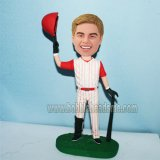 Custom Baseball Athletes Bobblehead Cheering For Win