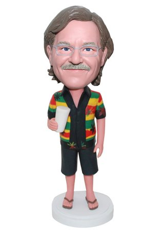 Casual Customized bobblehead Male Doll