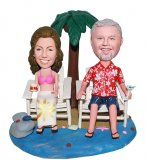 Custom Cheap Beach Bobble Head That Look Like You Anniversary Gifts