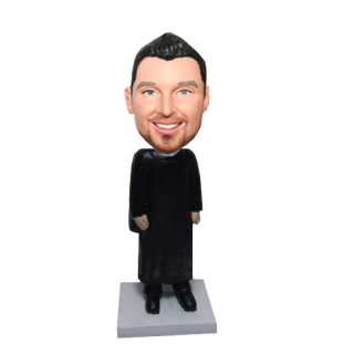 Praying Prist Custom Bobbleheads doll