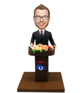 Custom Speechl Bobble Heads Figurines