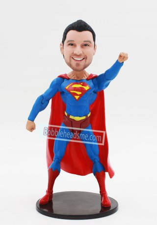 Custom Bobble head Superman Action Dolls