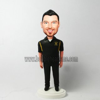 Sport Man In Uniform Personalized Bobblehead Doll