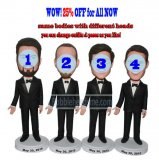 Custom Wedding Bobble Heads Gifts Groomsmen Gift Ideas