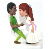 Pulp Fiction Couple Dancing Costom Bobblehead