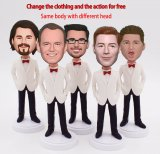 Custom Bobbleheads Suit For Groomsmen Gifts Groupon
