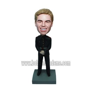 Custom Hand Folded Officer Bobbleheads