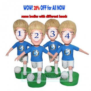 28 off bulk purchasing custom bobbleheads boys dribbling football