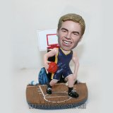 Custom bobbleheads Super Funny Basketball Player With Court