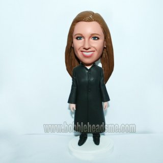 Female Judge Personalized Bobbleheads doll