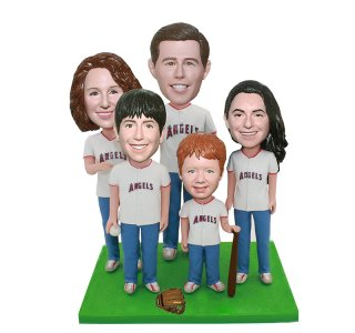 Baseball Enthusiast Personalized Bobble Head