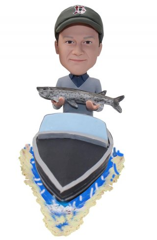 Custom Fishman Bobbleheads For Boats