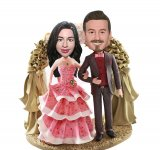 Custom Bobble Head For Beach Flowers Doors Wedding Cake Wedding Gifts