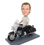 Customdizable Bobblehea Made Harley Davidson