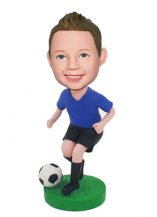 Bubble Head Dolls For Kids Football Doll Gifts