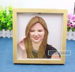 Customized Body Half Doll With Frame Bobbleheads From Photo 12-inch