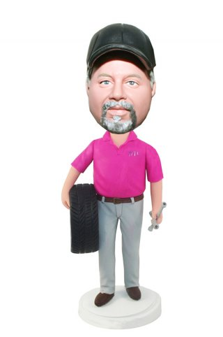 Custom Bobbleheads Mechanic Doll